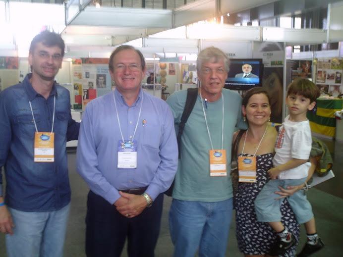 Alcemi, Flávio Valente, Francisco Menezes, Laydiane e Lorenzo