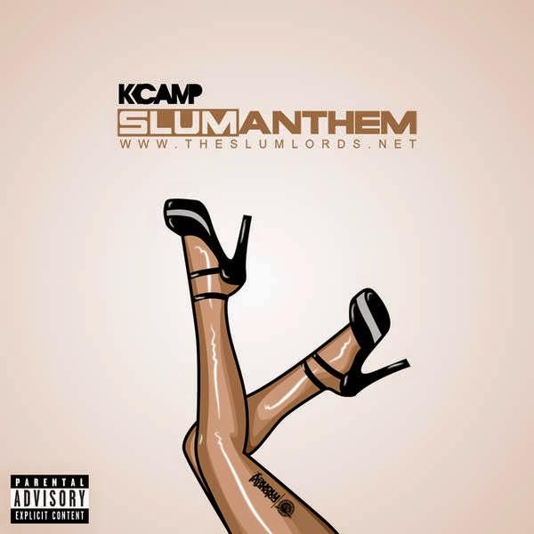 K CAMP - Slum Anthem - Single Cover