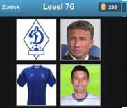 solution quiz de football niveau 76