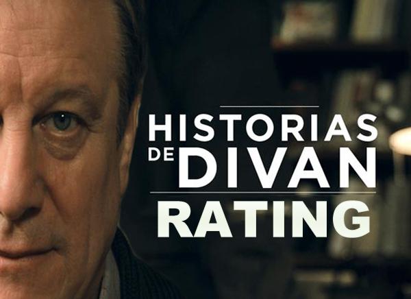 El rating de historias de div n telefe el canal numero uno for Historias de divan sinopsis