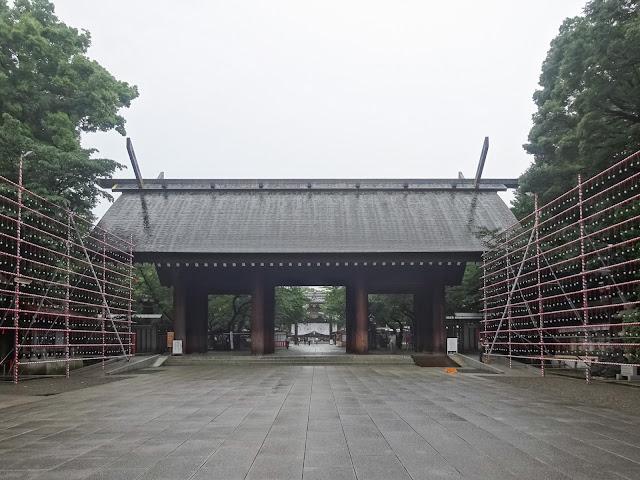 神門,靖国神社〈著作権フリー無料画像〉Free Stock Photos