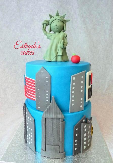 tarta de Nueva York con fondant 3