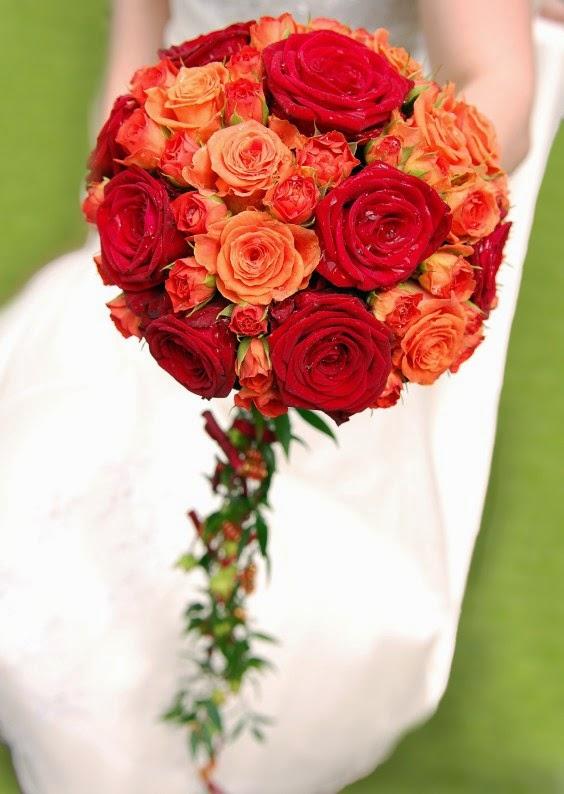Ramos y Bouquets de Novia Naranja, parte 6