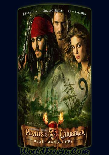 Pirates of the Caribbean 2 (2006) Dual Audio 480P 425MB Movie free Download