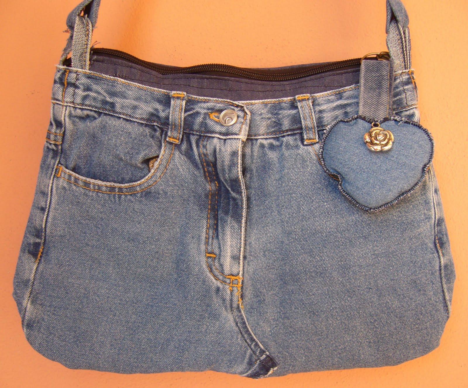 Super fior di anna: Riciclando borsa di jeans RE38