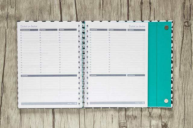 organizer, design your life, kartka z kalendarza