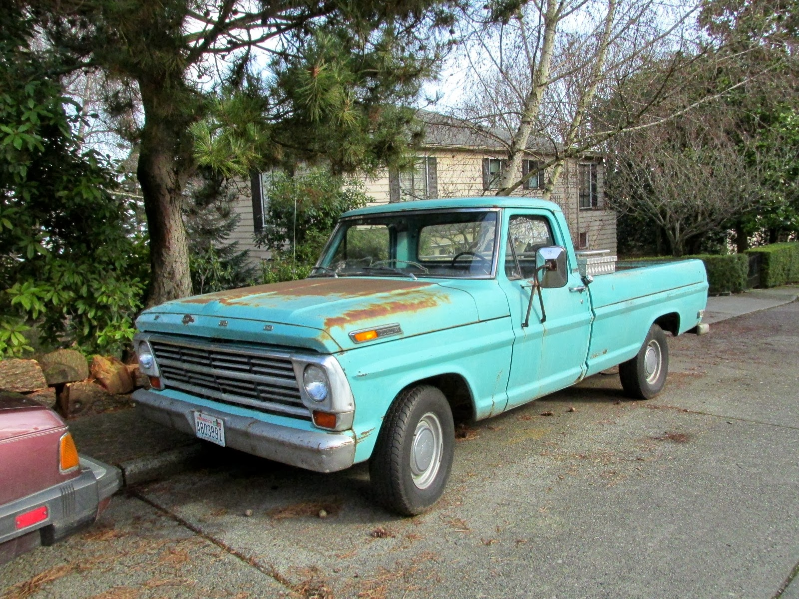 seattle 39 s classics 1968 ford f 150 pickup. Black Bedroom Furniture Sets. Home Design Ideas