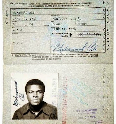 passport mohammad ali