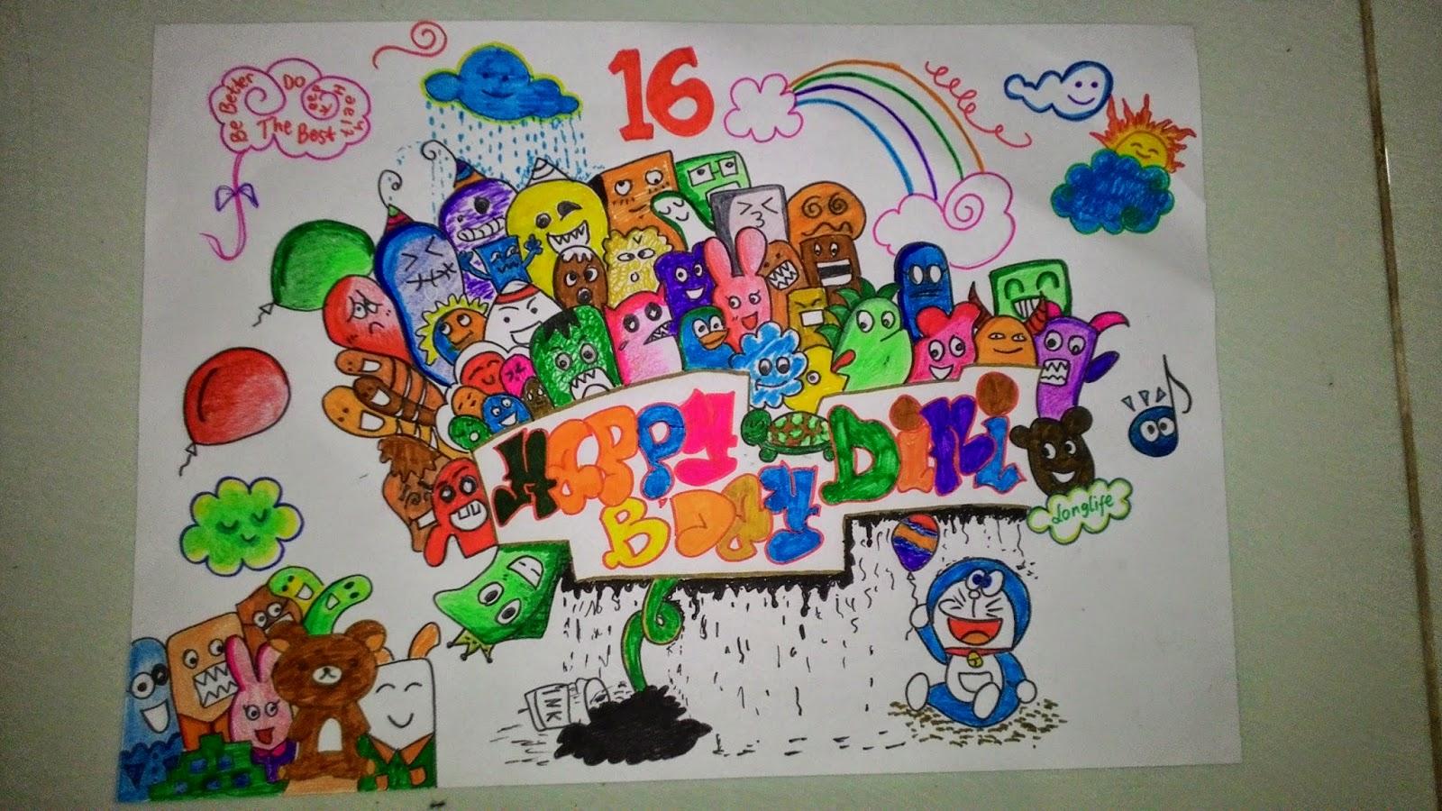 Ini salah satu karyaku disaat aku buatin doodle buat sahabat ku yang bernama Liddini Tirsa Fatwa 18 14 15 semoga bisa bermanfaat bagi kalian semua
