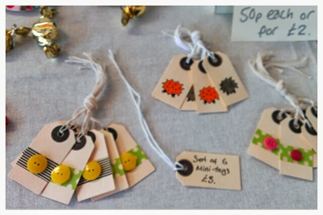 Miss Chaela Boo - Cherry Hinton Craft Party - mini-tags by Miss Chaela Boo