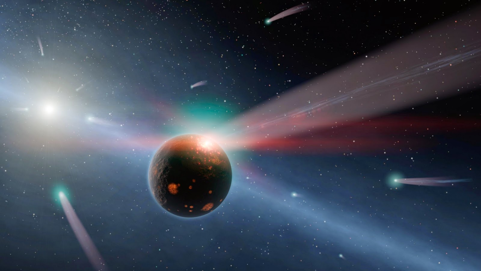 Tata Surya Kita Bakal Bertabrakan dengan Bintang Katai Oranye