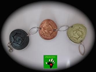 Bracciale tre cialde