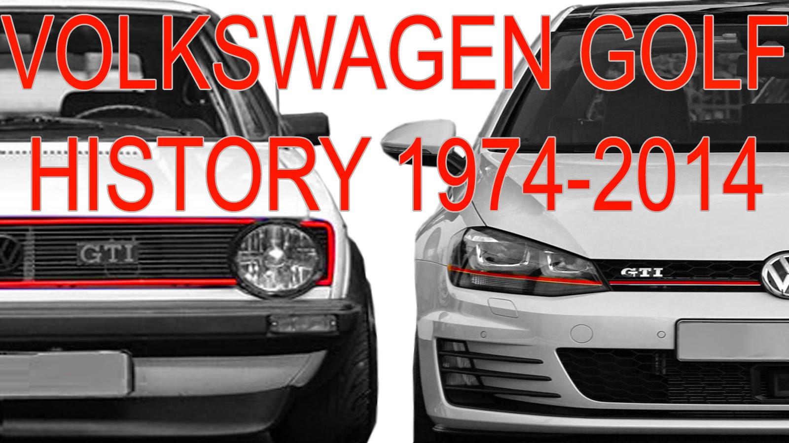 carwp historia volkswagen golf