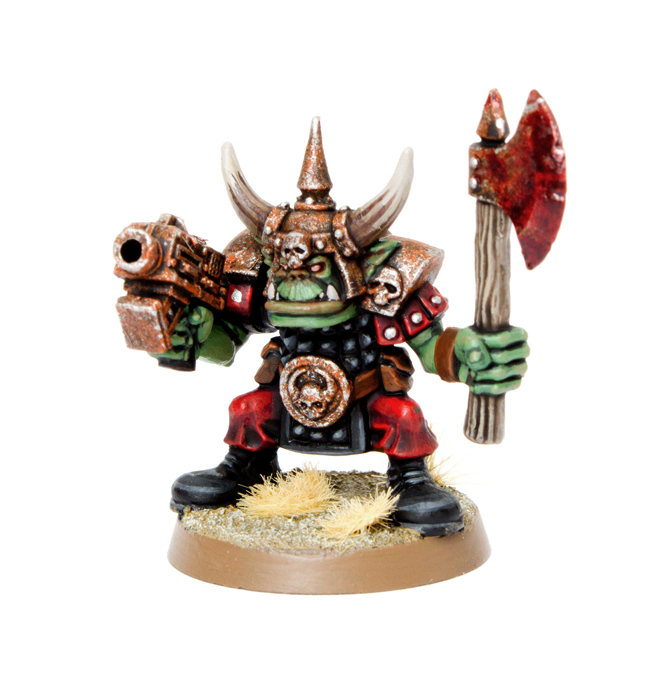 Painting Warhammer Miniatures With Oil Paint