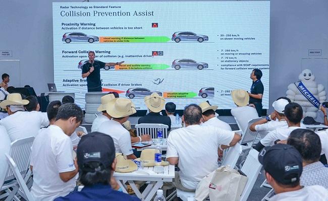 MBV giới thiệu hệ thống hỗ trợ phòng ngừa va chạm