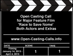 Race to Save Nome Open Casting Call