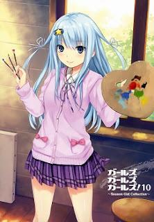 [Artbook] ガールズガールズガールズ! 10 -Season Girl Collection- (Girls Girls Girls! 10 -Season Girl Collection-) zip rar Comic dl torrent raw manga raw