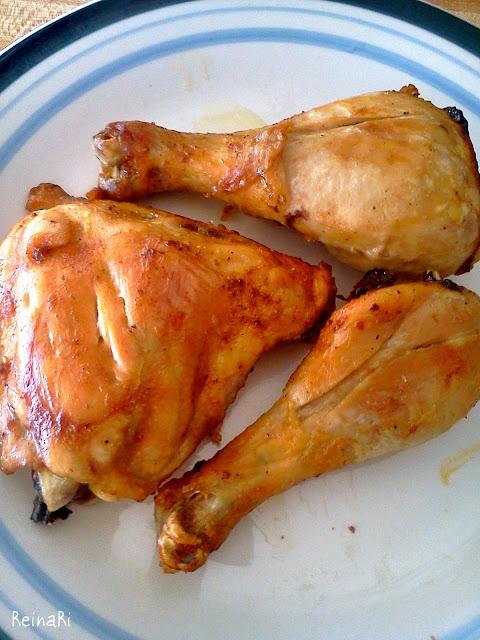 como hacer un pollo al horno facilmente