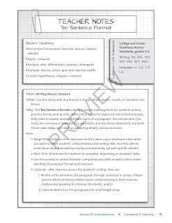 Expository Writing Paragraph Format
