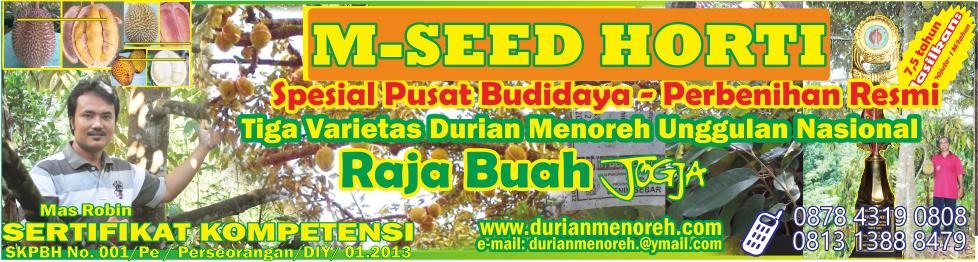 Tiga Varietas Durian Menoreh Unggulan Nasional