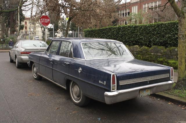 1967 Chevrolet Chevy II Nova sedan.