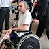 Hildebrando não anda, cai da cadeira de rodas e depende até dos de agentes penitenciários