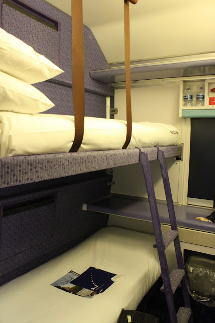 Caledonian sleeper from Edinburgh