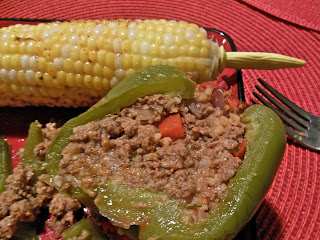 Ground Beef Stuffed Peppers