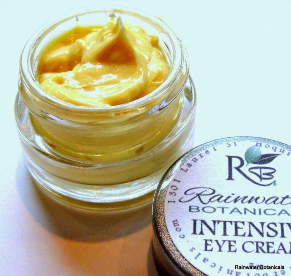 Jar of intensive eye cream