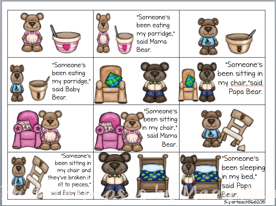 three little pigs sequencing worksheet