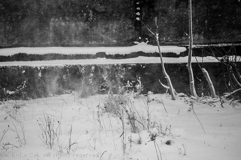 Trieste Porto Vecchio neve