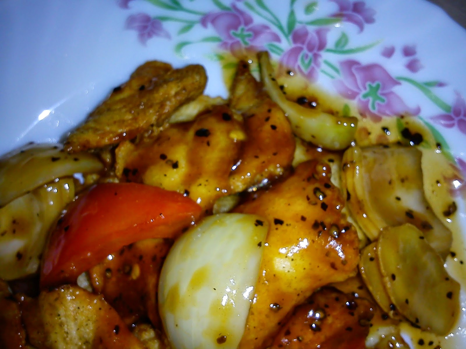 Cooking pleasure stir fried black pepper fish fillets for What to serve with fish fillets