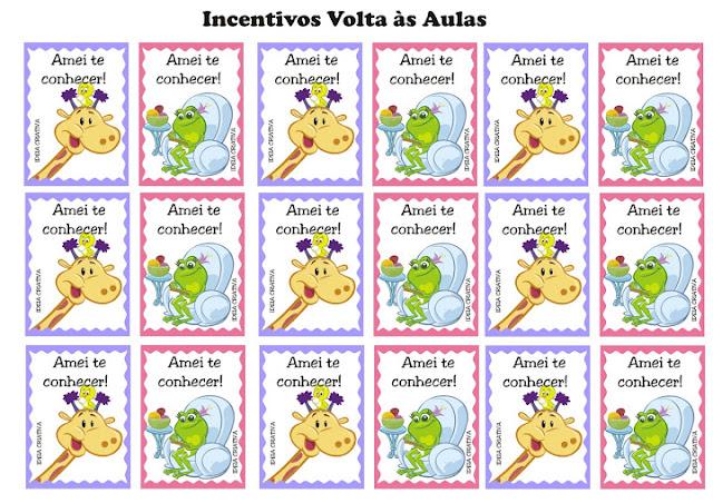 Incentivos Volta às aulas Galinha Pintadinha