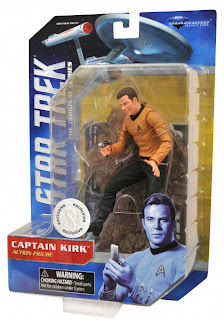 Diamond Select Star Trek The Original Series Captain Kirk Toys R Us Exclusive Figure