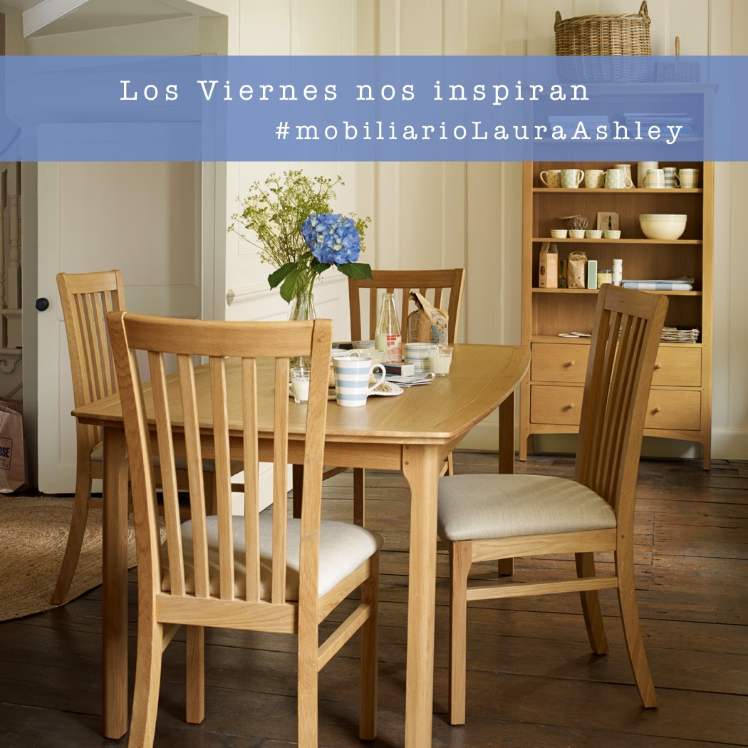 Mobiliario Laura Ashley Comedor