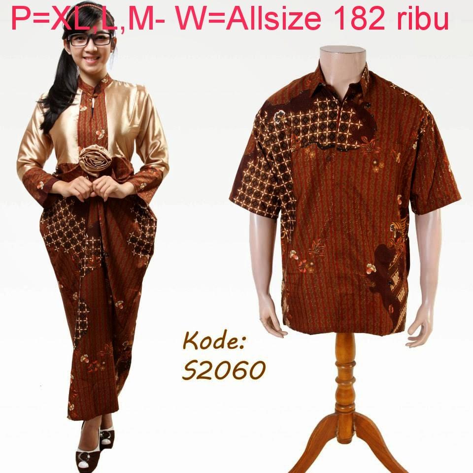 Baju Batik Pasangan Trendy Model Baju Batik