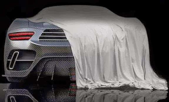 A single teaser image of the Mourinho Supercar has been revealed by Raff House