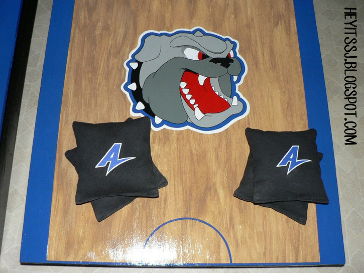 Finished bags with UNC Asheville logo