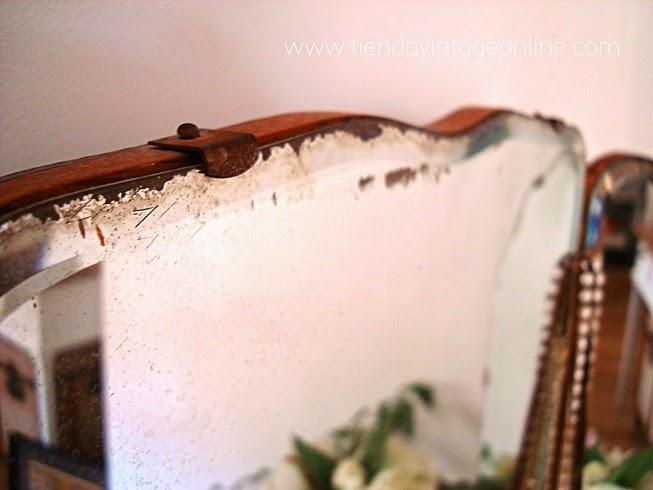 Espejos antiguos online internet, tiendas decoración vintage en valencia