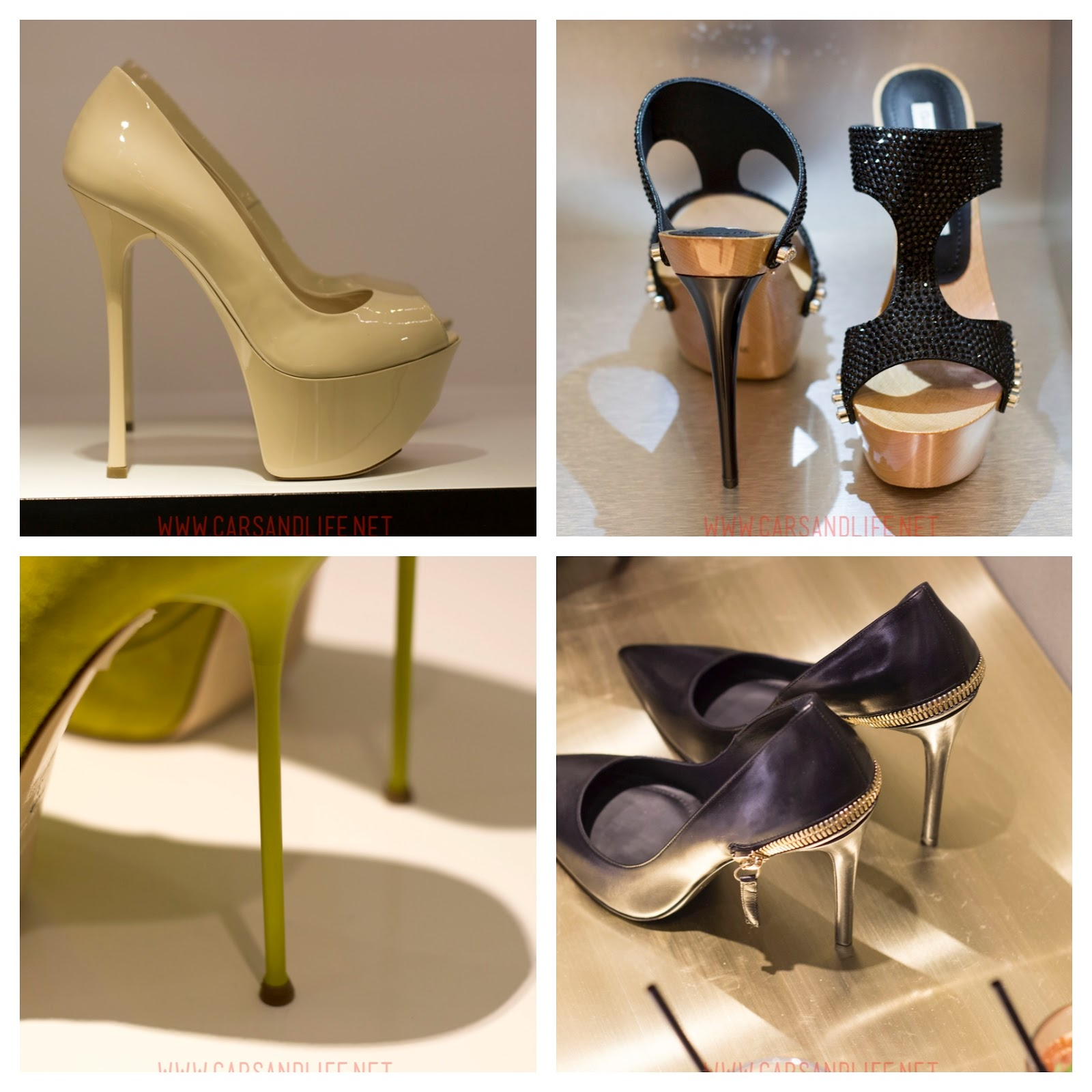 Gianmarco Lorenzi High Heels Spring Summer 2014 Collection