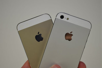 Apple iPhone 5S - Champagne Gold and Lighter Grey