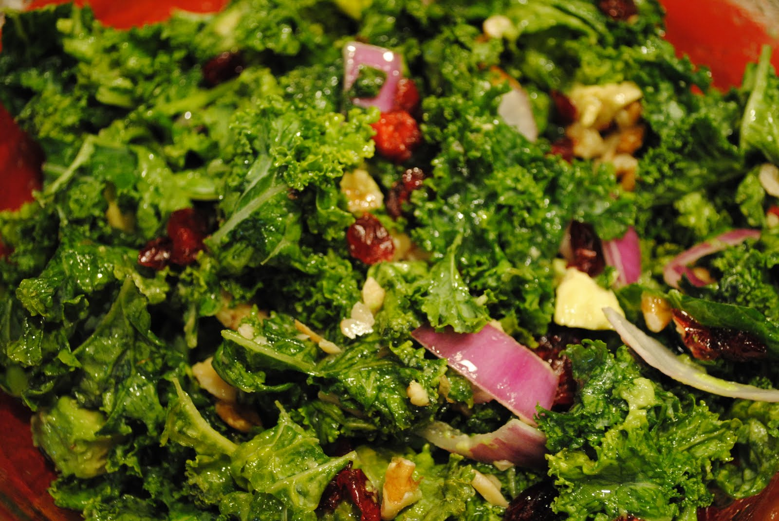"Dairy Free ""Tried and True"": Kale Salad"