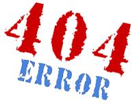 erro 404 not found