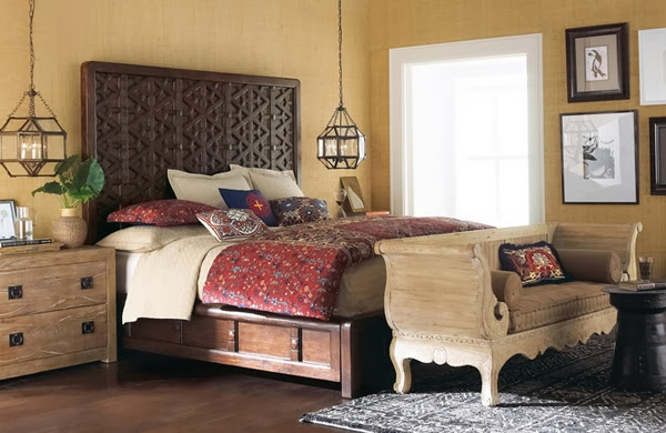 chambre esprit boheme chic id es d co moderne. Black Bedroom Furniture Sets. Home Design Ideas