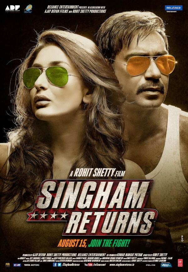 Singham returns 2014 Hindi Movie Watch Online