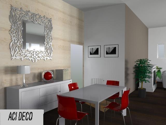 Aci deco decoration for Salle a manger 3d