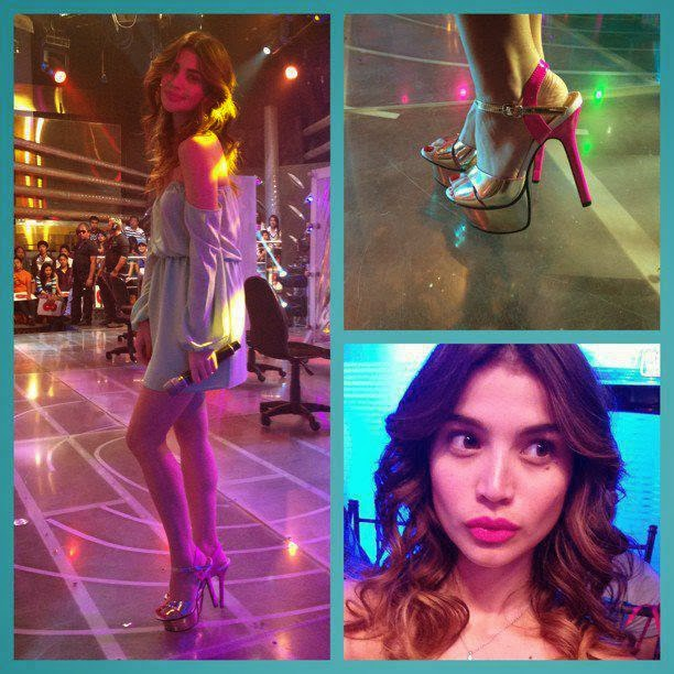 anne curtis sexy dress in its showtime