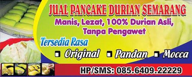 Jual Pancake Durian Semarang