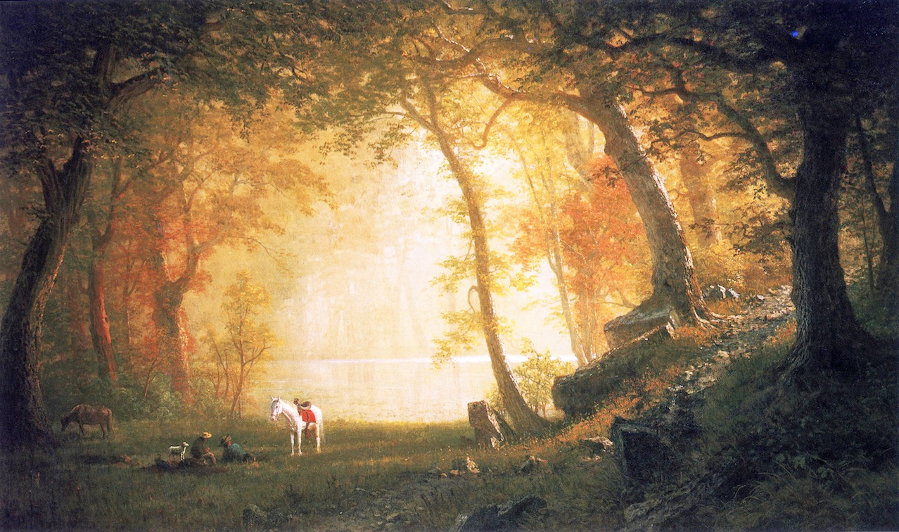19th Century American Paintings Albert Bierstadt
