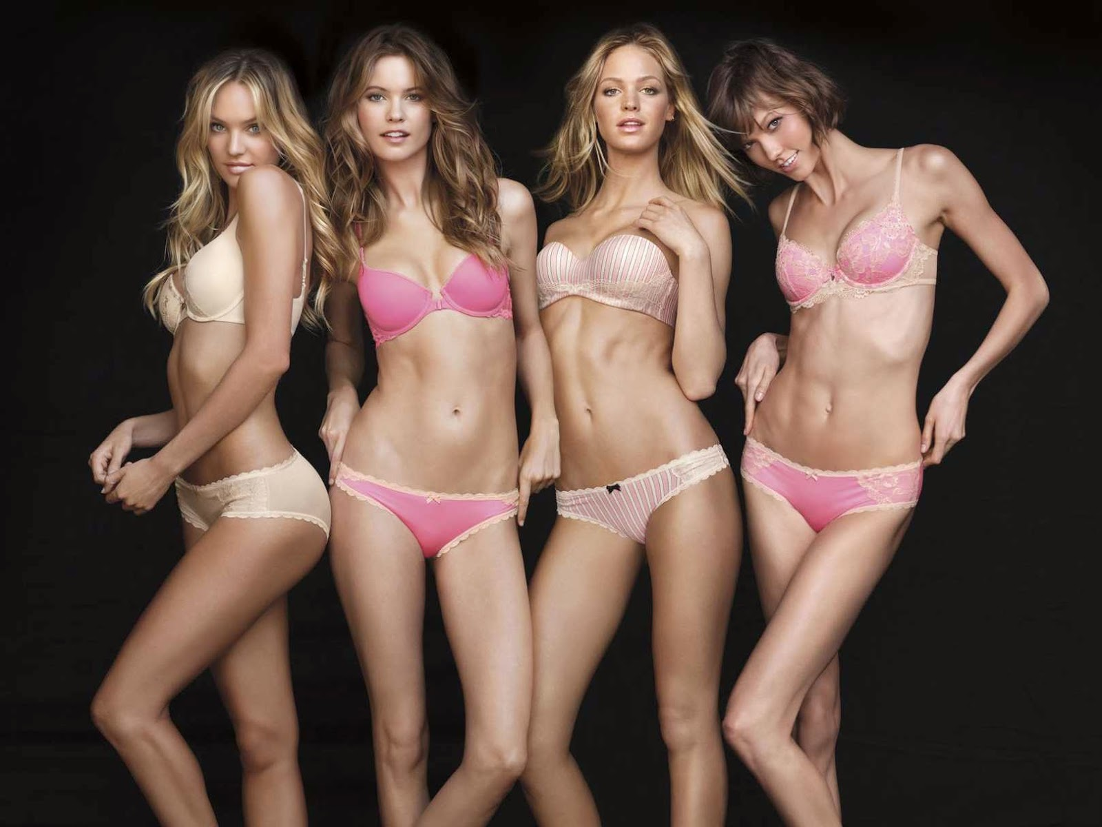 """The Angels started out as one of Victoria's Secret's lingerie lines. The models featured in the original advertising televised campaign in 1997 were Helena Christensen, Karen Mulder, Daniela Peštová, Stephanie Seymour, and Tyra Banks, with Yasmeen Ghauri being featured in print. In February 1998, the Angels made their runway debut at Victoria's Secret's 4th annual fashion show, with Chandra North filling in for Christensen. Due to their growing popularity, the brand used those models in several other advertising campaigns alongside Laetitia Casta and Inés Rivero, Christensen was the first to leave the brand. Nowadays, the term Angels refers to the brand's contracted spokeswomen, while the fashion show models are referred to as """"Runway Angels"""". In 2004 due the Superbowl controversy, instead of a televised show, Victoria's Secret sent its 5 contract models on a tour called Angels Across America. The Angel line-up has been changed multiple times over the years, with one being officially released before each fashion show. The brand currently lists 8 supermodels on its website, and had a Facebook application in 2013-2014 highlighting the Angels (then including Miranda Kerr and Erin Heatherton) as well as Lais Ribeiro, Toni Garrn and Barbara Palvin. Among other recognitions, the Victoria's Secret Angels were chosen to be part of People magazine's annual """"100 Most Beautiful People in the World"""" issue in 2007 and became the first trademark awarded a star on the Hollywood Walk of Fame on November 13, 2007.[citation needed] Other notable spokesmodels for the brand have included: Claudia Schiffer, Eva Herzigová, Oluchi Onweagba, Jessica Stam, Ana Beatriz Barros, and Emanuela de Paula, as well as a handful of celebrities such as Taylor Momsen."""